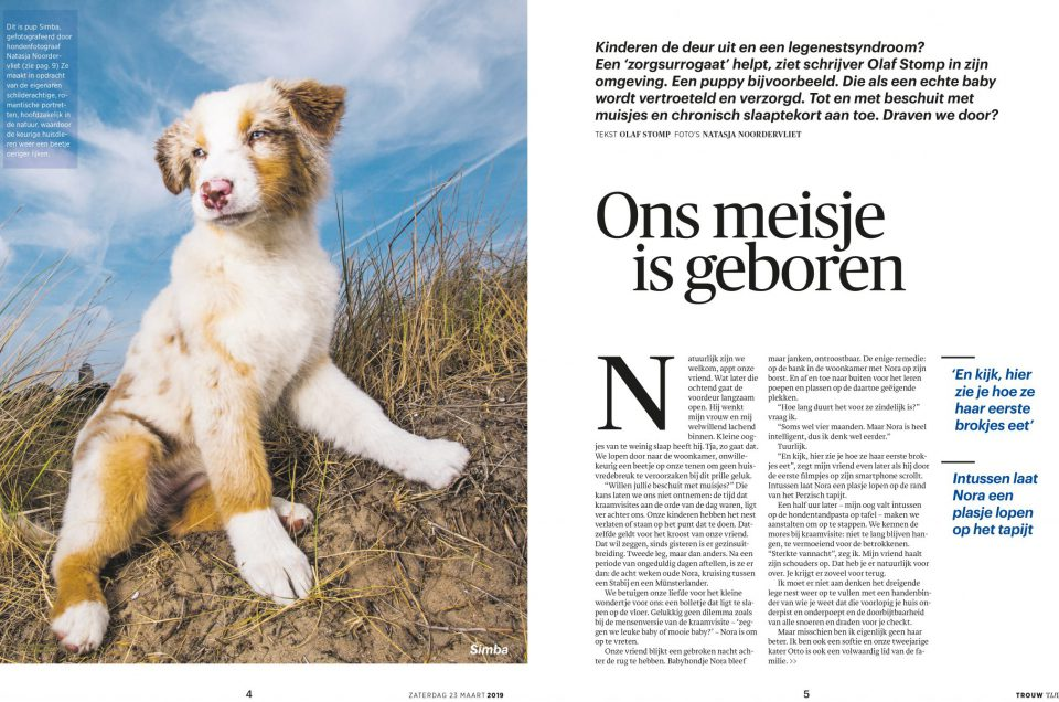 Publicatie in Trouw